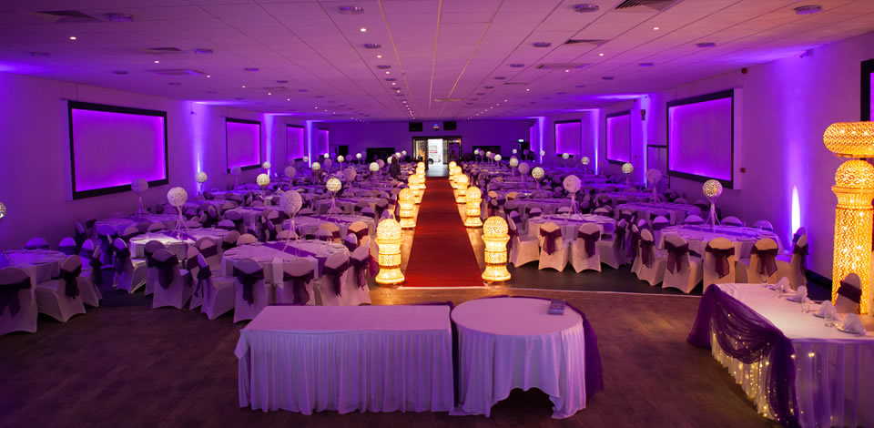 Crown banqueting asian wedding venue birmingham for Asian wedding decoration hire