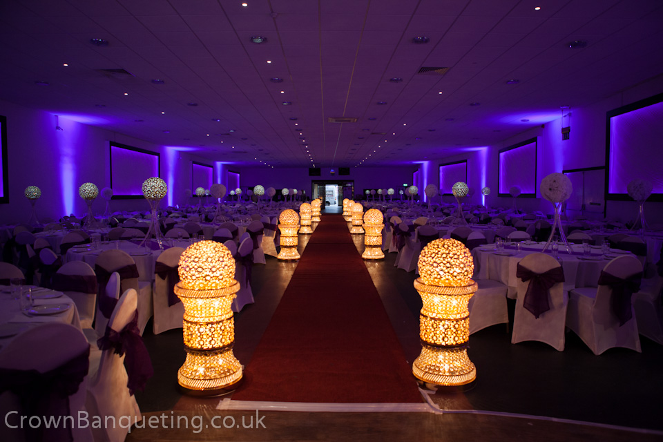 Our wedding venue crown banqueting hall for Asian wedding stage decoration birmingham