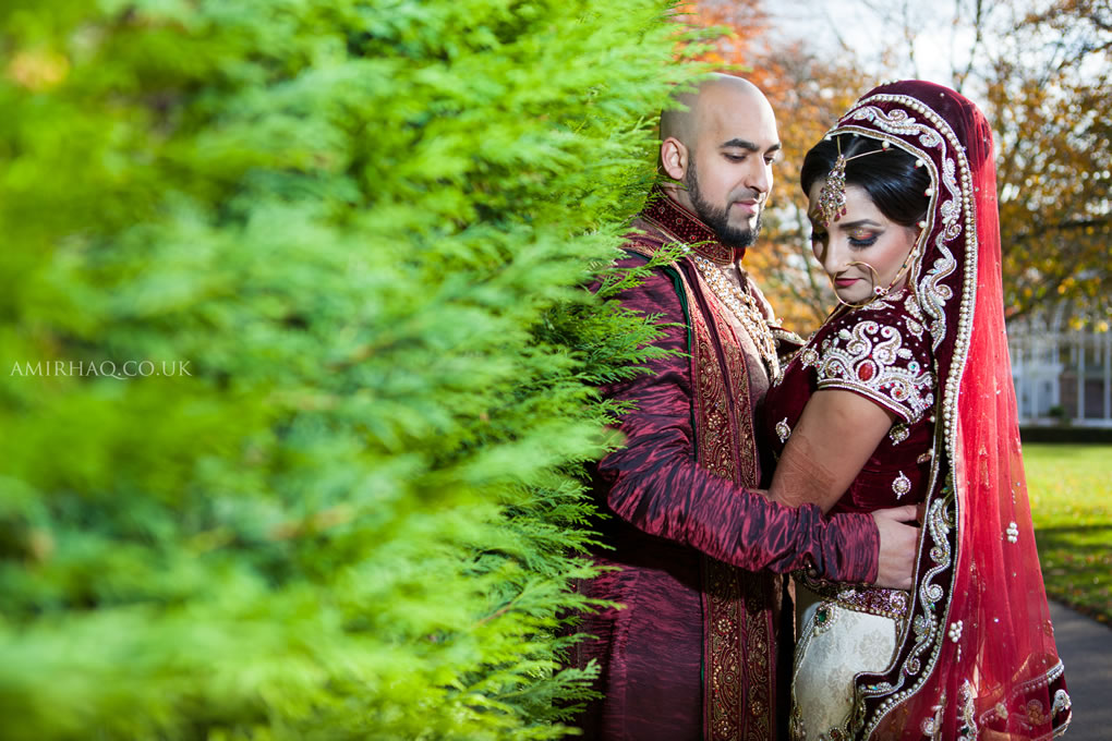 Samina and Nadeem at The Botanical Gardens